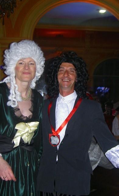 le bal de Versailles 2003, Hotel de France Bal20015