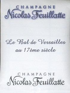 Les partenaires du Bal de Versailles depuis 2002 Champ010