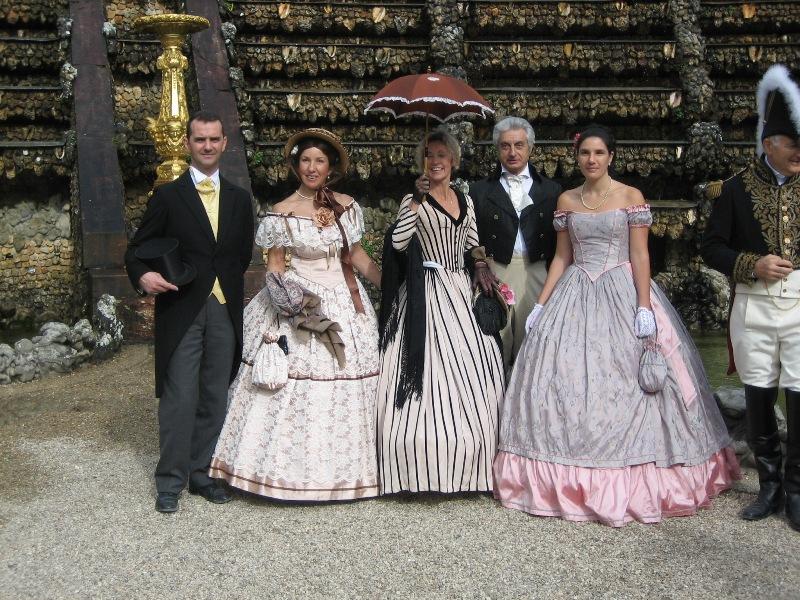 Nos balades en costume au Chateau de Versailles, 2003, 2004, 2005 Img_1511