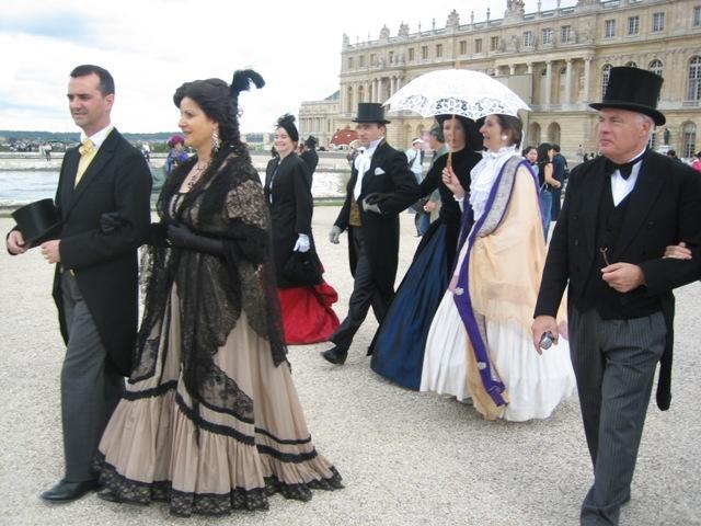 Nos balades en costume au Chateau de Versailles, 2003, 2004, 2005 Img_1512