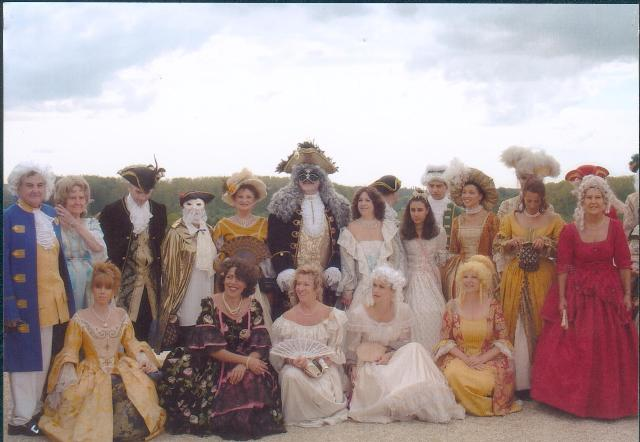 Nos balades en costume au Chateau de Versailles, 2003, 2004, 2005 Photo610