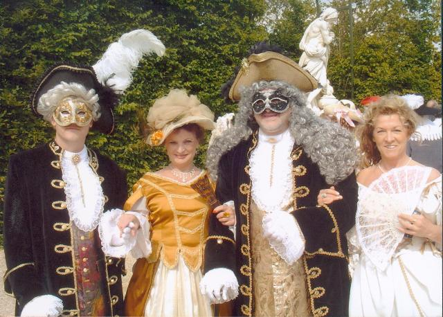 Nos balades en costume au Chateau de Versailles, 2003, 2004, 2005 Photo910