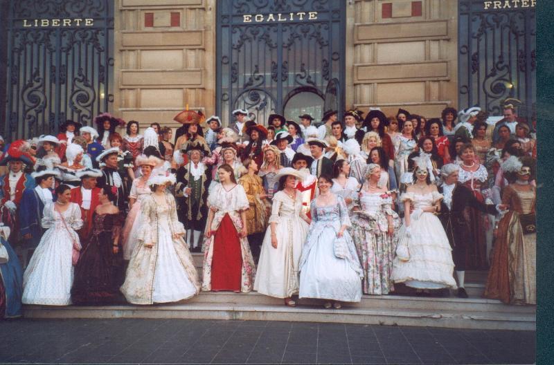 Nos balades en costume au Chateau de Versailles, 2003, 2004, 2005 Stori310