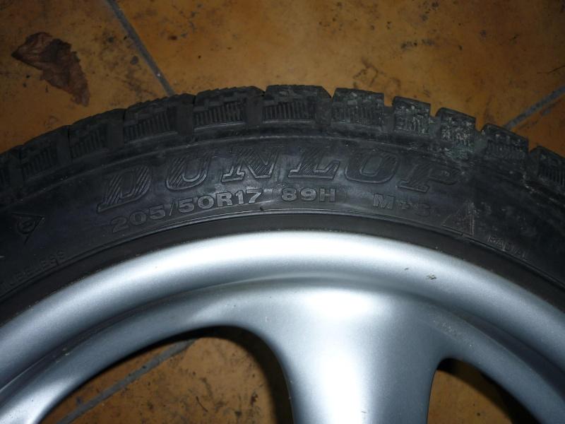 recherche 1 jeu de roues pneus neige 996 P1010110