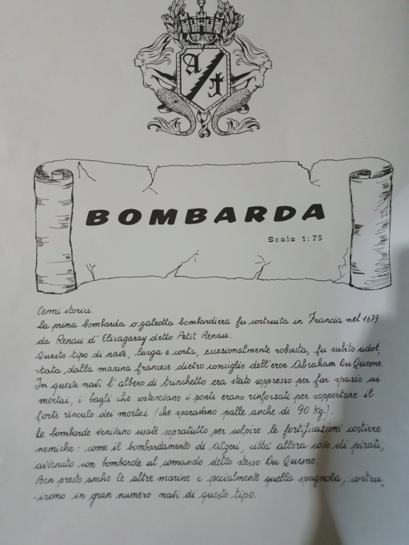 Nave bombarda , amati 1/75 20191213