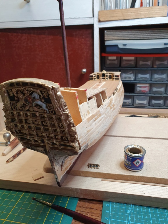 HMS Prince 1670 mamoli 1/144 20201031