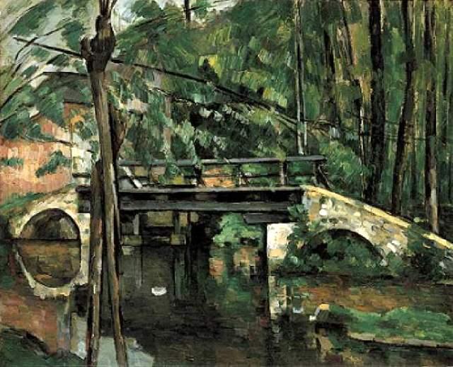 - Street View : Lieux représentés sur des peintures célèbres (ou un peu moins) Cezann10