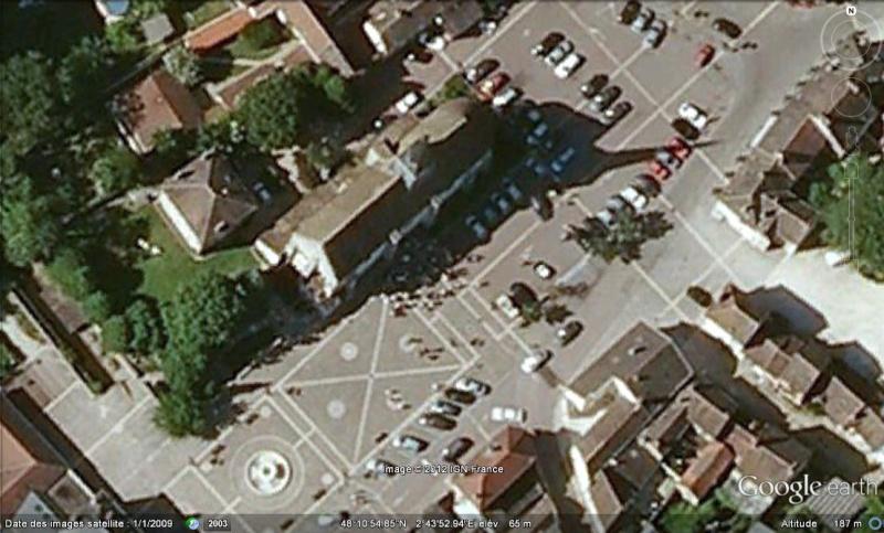 Les scènes de mariage vues avec Google Earth Mariag10
