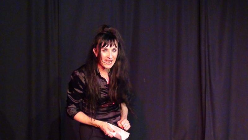 Dossier de communication pour le one woman show : J'me fais du cinéma Dossie10