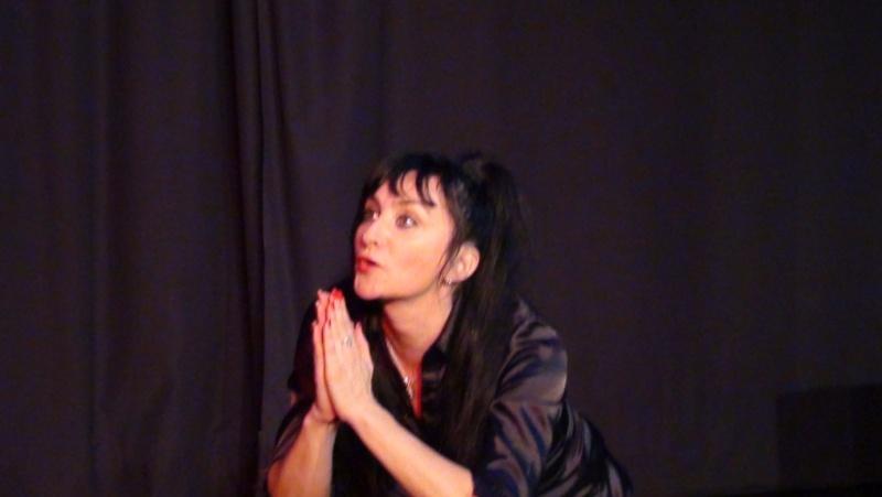 Dossier de communication pour le one woman show : J'me fais du cinéma Dossie12