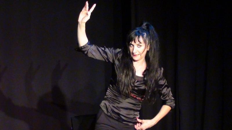 Dossier de communication pour le one woman show : J'me fais du cinéma Dossie14