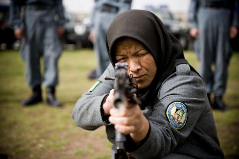 Afghan Police Uniform w/ Cap Afghan10