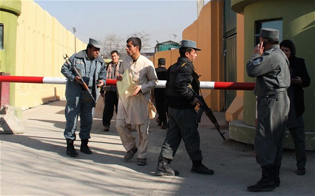 Afghan Police Uniform w/ Cap Afghan11