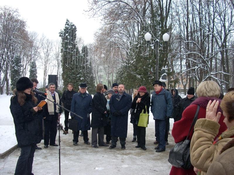 15 ianuarie 2010-ziua de nastere a lui Mihai Eminescu sarbatorita in Parcul Copou 15_ian14