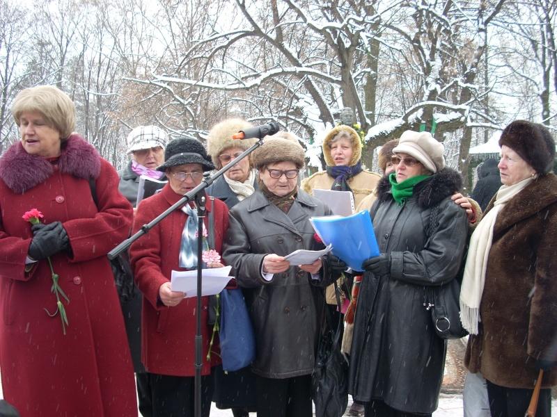 15 ianuarie 2010-ziua de nastere a lui Mihai Eminescu sarbatorita in Parcul Copou 15_ian17