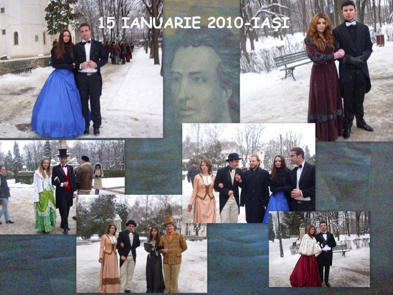 15 ianuarie 2010-ziua de nastere a lui Mihai Eminescu sarbatorita in Parcul Copou Colaj_10
