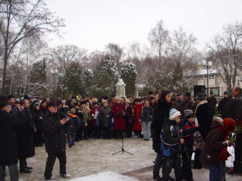 15 ianuarie 2010-ziua de nastere a lui Mihai Eminescu sarbatorita in Parcul Copou E510