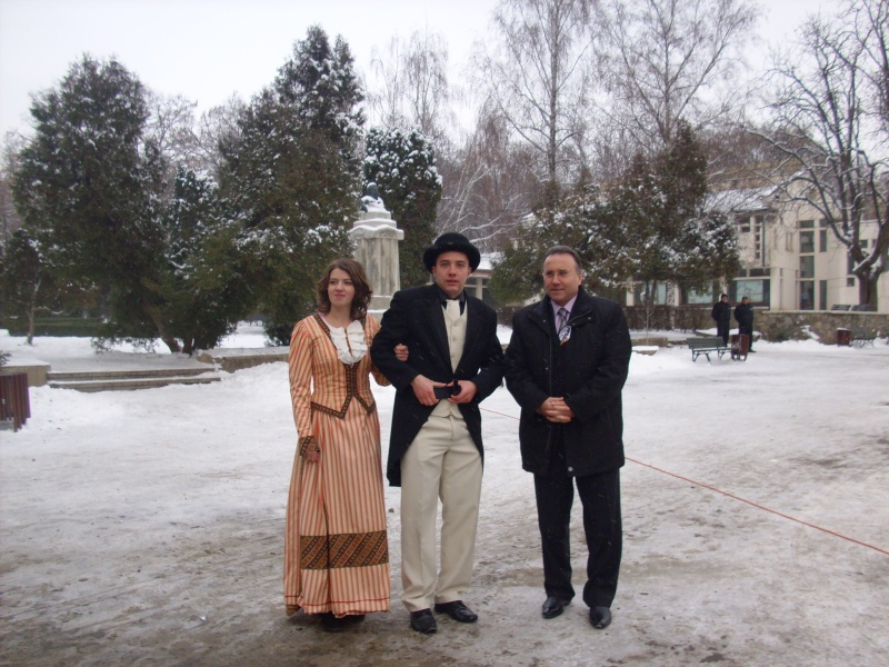 15 ianuarie 2010-ziua de nastere a lui Mihai Eminescu sarbatorita in Parcul Copou Gheorg11