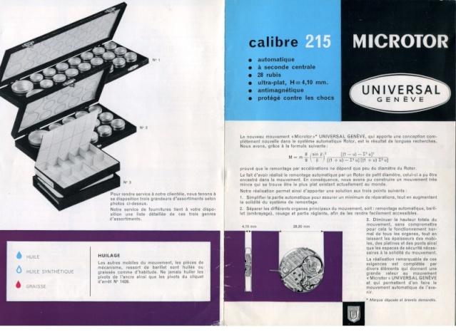 Mikrorotor saat mekanizmalari Univer12