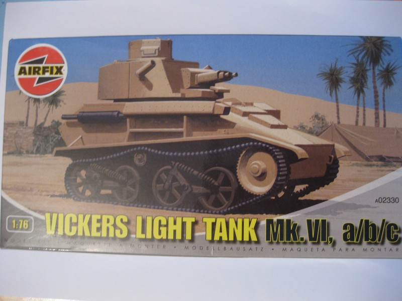 Vickers Light Tank Mk. VI a/b/c  [Airfix , 1/76 ] FINI ! Photo180