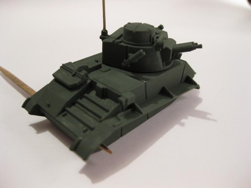Vickers Light Tank Mk. VI a/b/c  [Airfix , 1/76 ] FINI ! Photo264