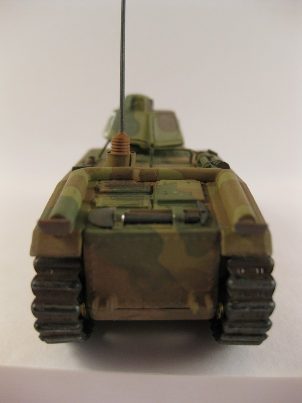 Char B1 bis [ Matchbox 1/76] Photo275
