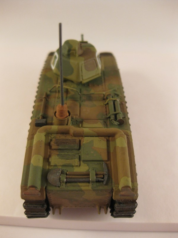 Char B1 bis [ Matchbox 1/76] Photo276