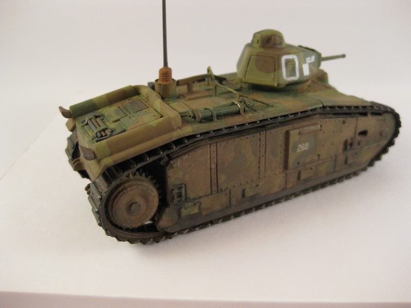 Char B1 bis [ Matchbox 1/76] Photo277