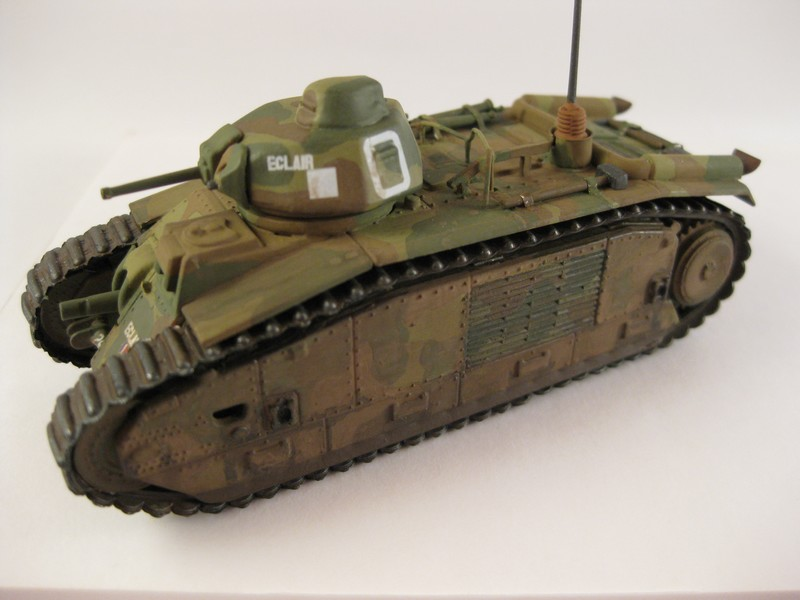 Char B1 bis [ Matchbox 1/76] Photo278