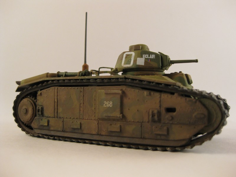 Char B1 bis [ Matchbox 1/76] Photo279