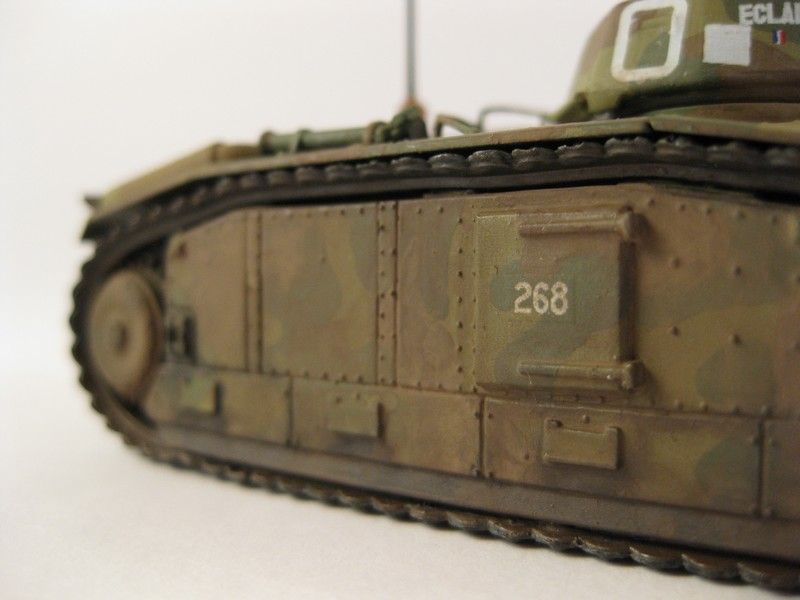 Char B1 bis [ Matchbox 1/76] Photo280