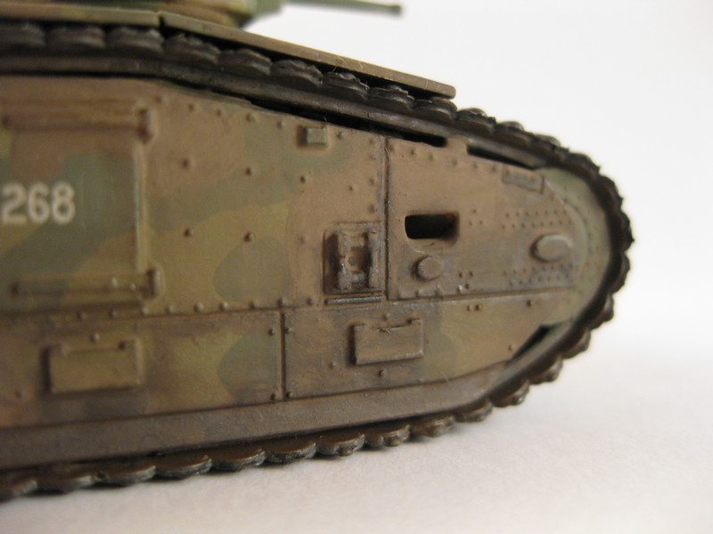 Char B1 bis [ Matchbox 1/76] Photo281