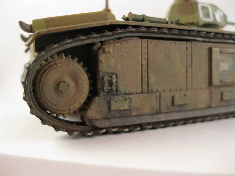 Char B1 bis [ Matchbox 1/76] Photo282