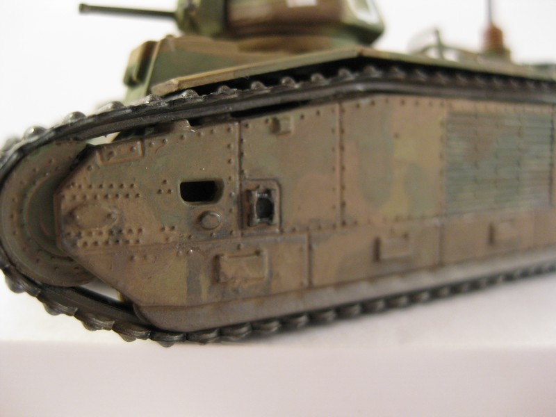 Char B1 bis [ Matchbox 1/76] Photo284