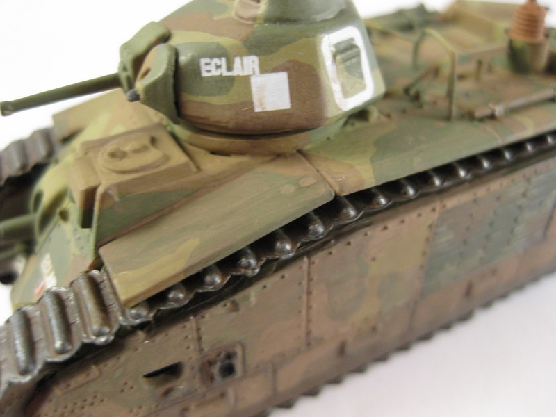 Char B1 bis [ Matchbox 1/76] Photo285