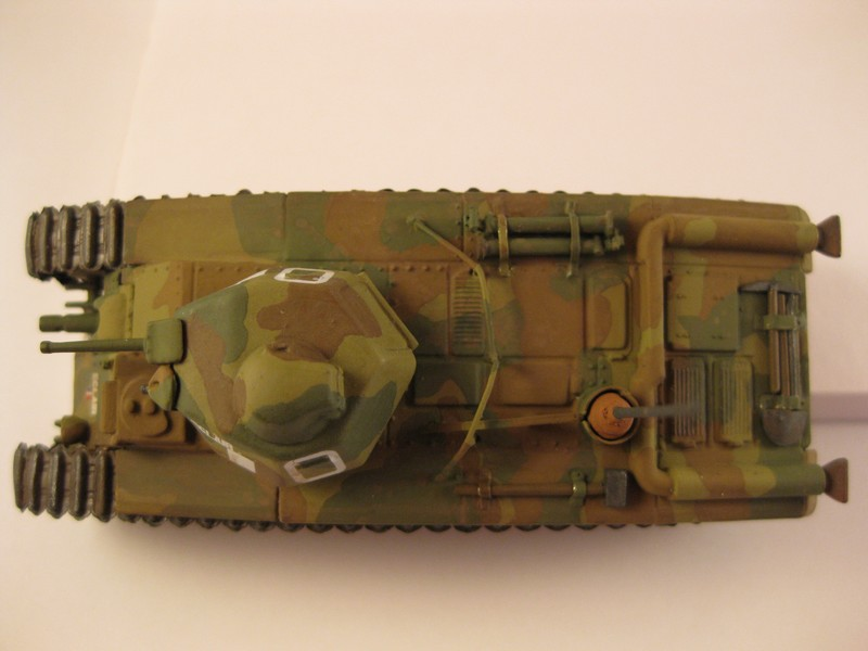 Char B1 bis [ Matchbox 1/76] Photo286