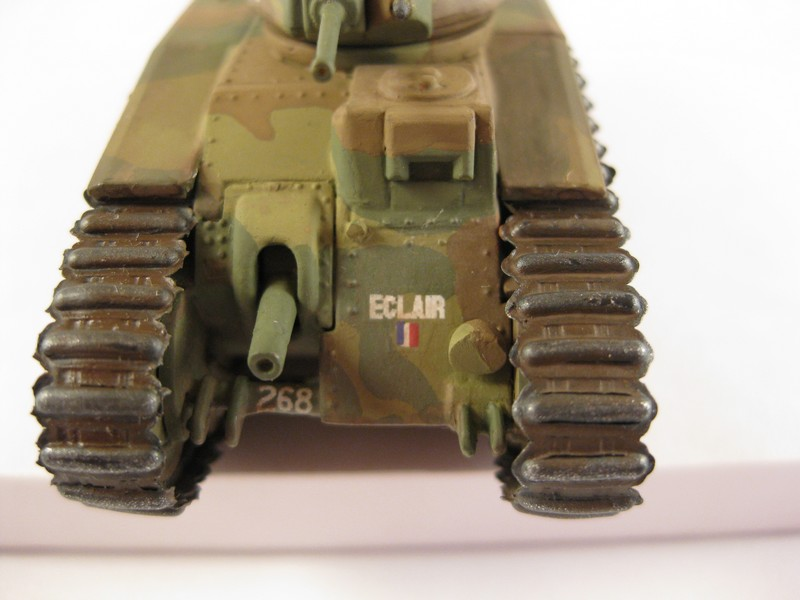 Char B1 bis [ Matchbox 1/76] Photo287