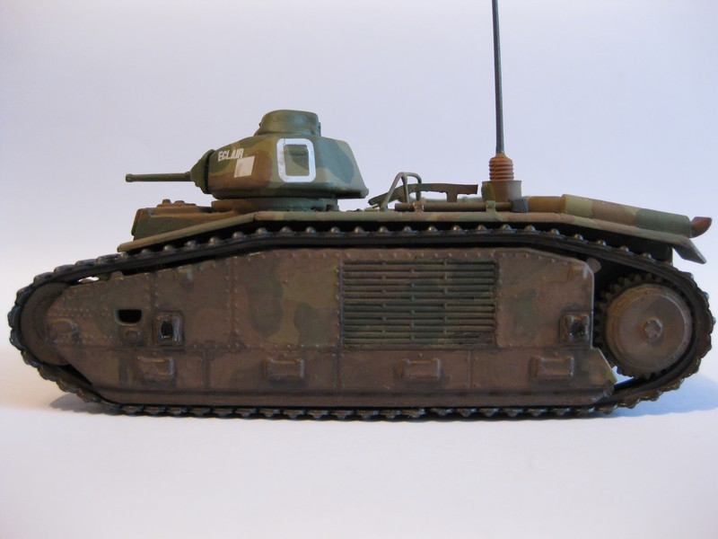 Char B1 bis [ Matchbox 1/76] Photo288