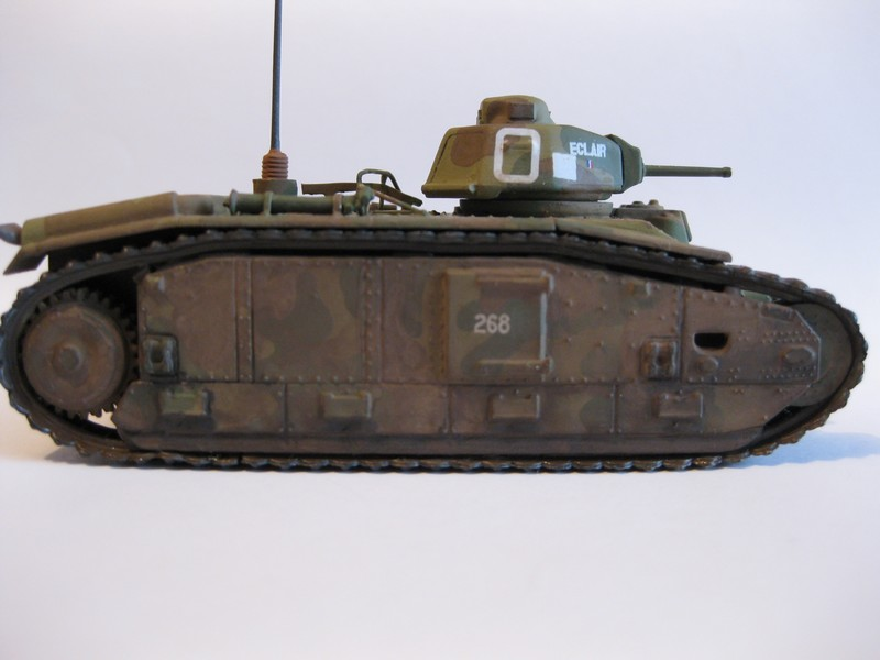 Char B1 bis [ Matchbox 1/76] Photo289