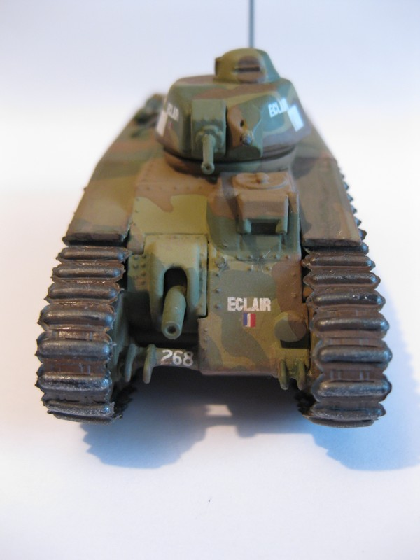 Char B1 bis [ Matchbox 1/76] Photo290