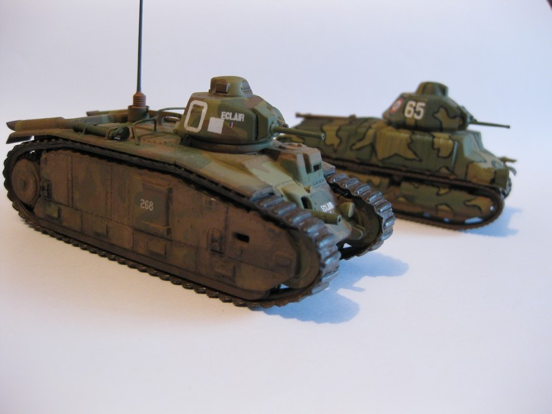 Char B1 bis [ Matchbox 1/76] Photo291