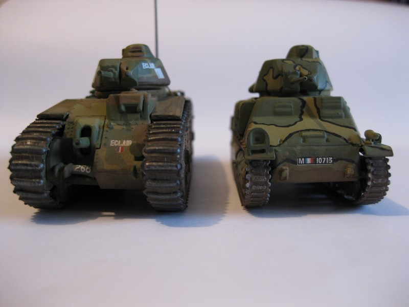 Char B1 bis [ Matchbox 1/76] Photo292