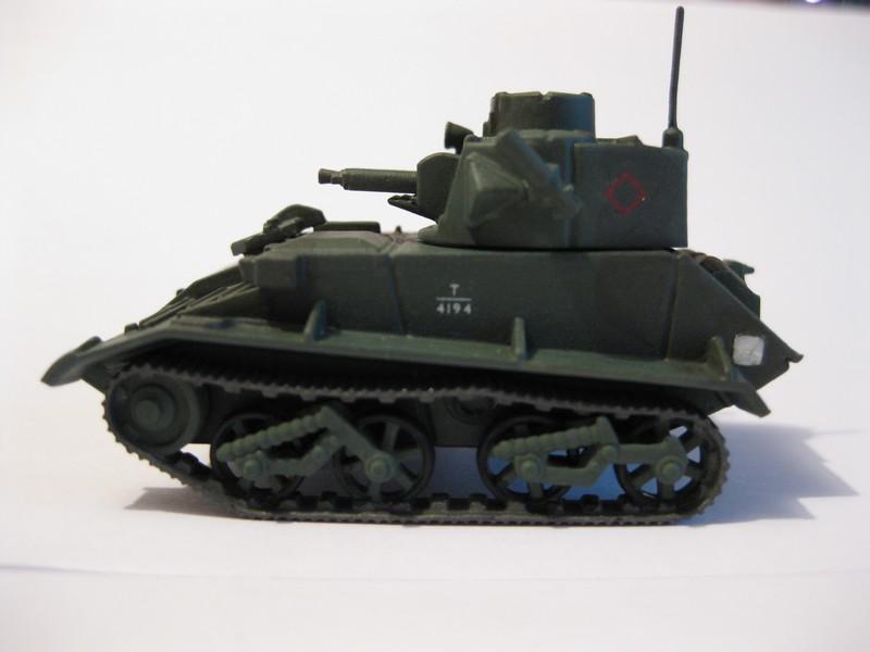 Vickers Light Tank Mk. VI a/b/c  [Airfix , 1/76 ] FINI ! Photo308