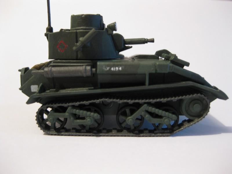 Vickers Light Tank Mk. VI a/b/c  [Airfix , 1/76 ] FINI ! Photo310