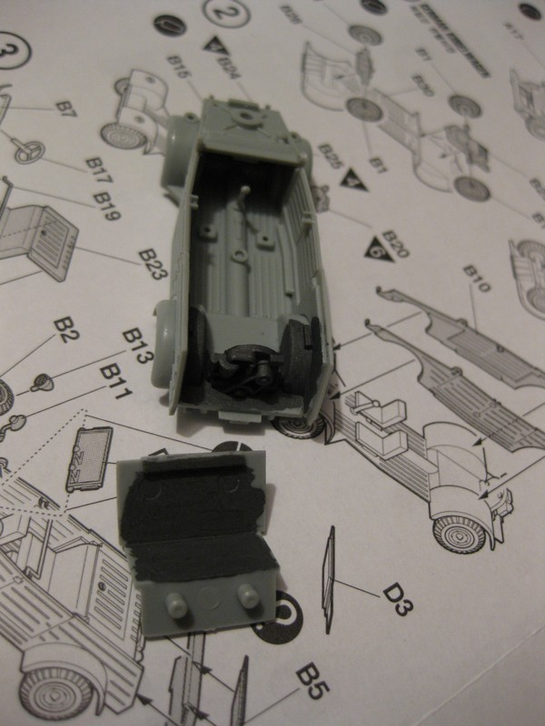 Kubelwagen ,WW.II Ground Vehicle Set [Academy 1/72 ] FINI! Photo319