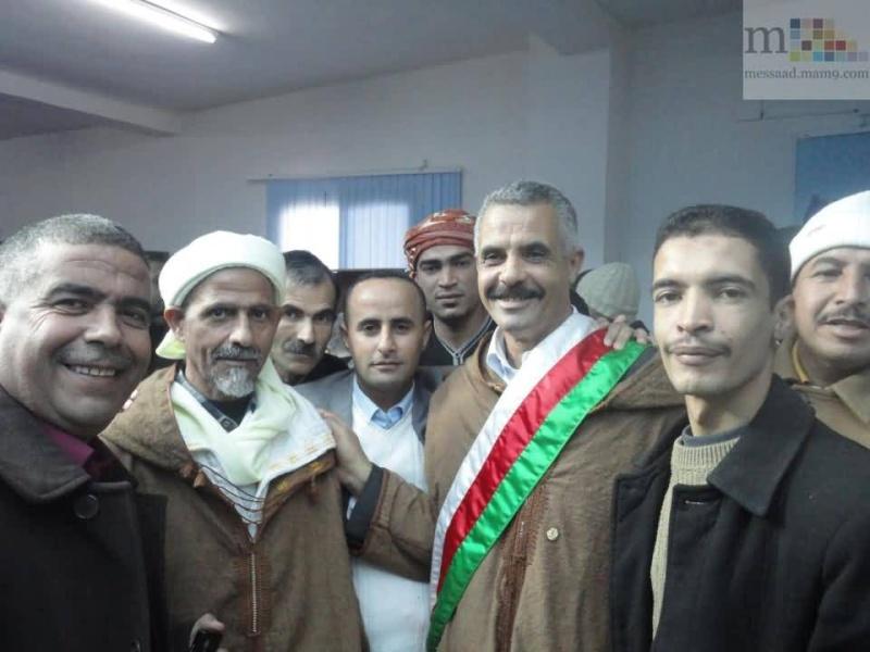 السيد دحمان محمد رئيس المجلس الشعبي البلدي لبلدية مسعد 0210