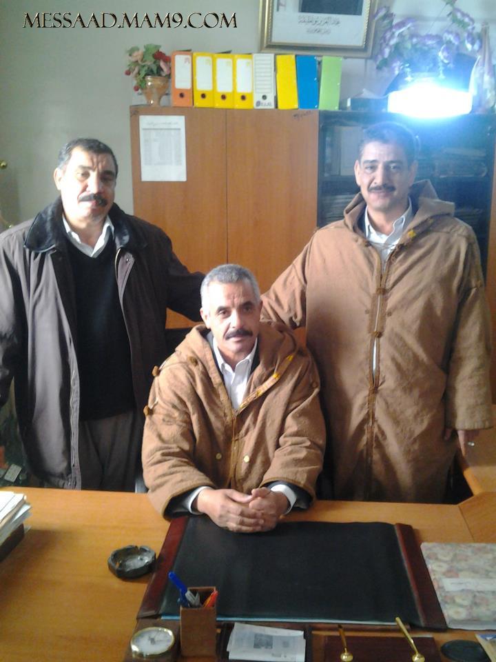 صور / السيد محمد دحمان رئيس المجلس الشعبي البلدي لبلدية مسعد 39201910