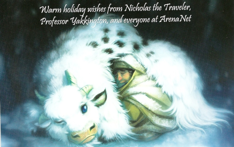 A Christmas Card From  ArenaNet. Scan0010