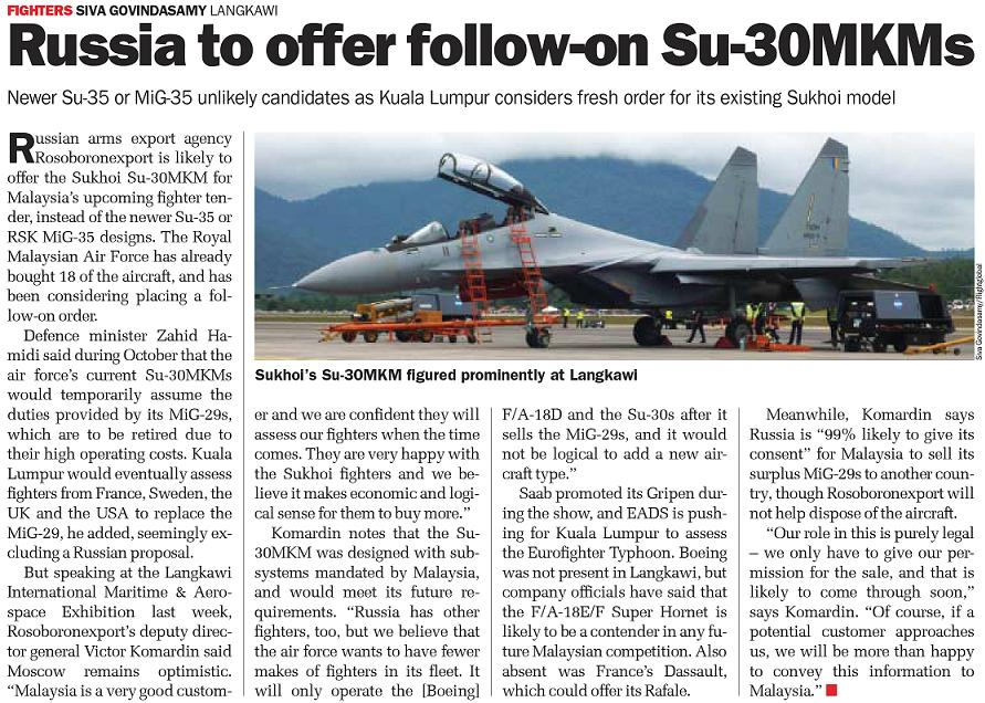 Malaysian Armed Forces (MAF) - Page 2 30mkm10