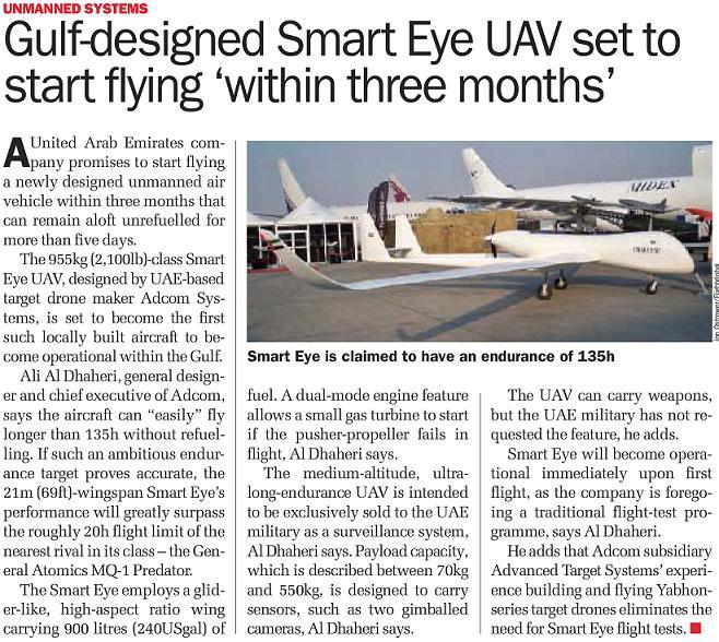 l'industrie militaire dans le monde arabe Uaeuav10